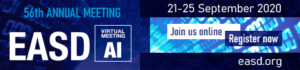 European Foundation for the Study of Diabetes Annual Meeting 2021 @ Virtual Meeting