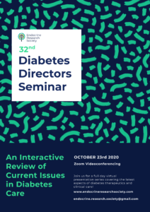 Endocrine Research Society's 32nd Annual Diabetes Directors Seminar @ Zoom Videoconference